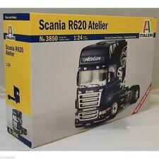 ITALERI - 3850 SCANIA R620 ATELIER TRUCK KIT 1:24 SCALE
