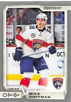 18/19 O-PEE-CHEE OPC UPDATE SILVER #602 MIKE HOFFMAN PANTHERS *61773