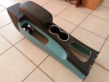 02 Ford Thunderbird black/green center console