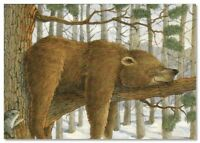 Funny family of BEARs Animals Art Jeffrey  collection Russian modern Postcard