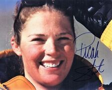 Picabo Street Signed -- Autographed Olympic Alpine Ski Racer 8x10 inch Photo