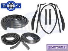 61-62 GM B Body Weatherstrip Seal Kit 2 Door Convertible Metro USA Made