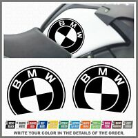 2x BMW R1200 GS Adventure 08-13 Black ADESIVI PEGATINA STICKERS AUTOCOLLANT