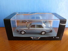 DATSUN BLUEBIRD U910 1.8 GL VERSION 1 LIGHT BLUE METAL 1979 NEO 44500 1/43 RESIN