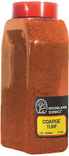 Woodland Scenics T1354 Turf Coarse FALL ORANGE 32 oz Shaker - NIB