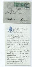 Lettera Autografo Senatore Luigi Pastro Comitato Patriota Mazzini Venezia 1911