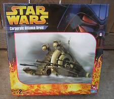 AMT STAR WARS CLONE WARS CORPORATE ALLIANCE DROID MODEL MISB SHRINK WRAPPED