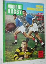 MIROIR RUGBY N°7 1961 TOURNEE NEW ZEALAND XV FRANCE ALL BLACKS