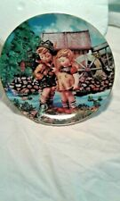 "M.I. Hummel ""Hello Down There"" Little Companions Plate - The Danbury Mint"