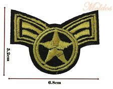 Military Star Iron Sew Embroidered Patch Badge Patches Logo Fancy Badges #257