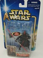 Star Wars The Phantom Menace Darth Maul Sith Training Figure 2002