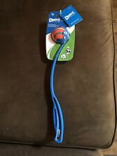Chuckit Small Ball Launcher Sport 14 Thrower Dog Fetch Toy Blue