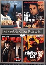 Carolina Skeletons,the Cops Are Robbers,Mike Hammer,on The Streets Of LA (DVD)