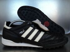 Adidas mundial equipo TF talla 45 1/3 UK 10,5 K-cuero negro multinocken arte césped