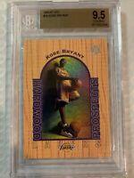 1996 UD3 Basketball Kobe Bryant ROOKIE RC #19 BGS 9.5 GEM MINT