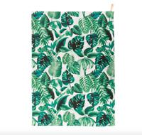 Sass & Belle 100 % Cotton Botanical Jungle  Kitchen Tea Towel Drying Cloth