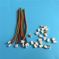 Micro Mini Stecker 1.0mm 4-Pin mit Kabel 10cm, 28AWG, JST SH kompatibel