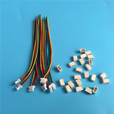 Micro JST SH 1.0mm 4-Pin Femal cable with Male Connector x 20 sets