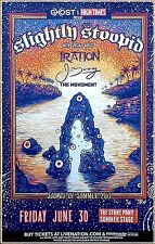 SLIGHTLY STOOPID Sounds Of Summer 2017 Ltd Ed RARE Tour Poster! IRATION J.BOOG