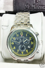 Rotary Mens St Moritz Gents Swiss Watch Classic Aviator Chronograph