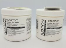 REVLON Professional Realistic Creme Relaxer Normal to Med Hair 15oz (LOT OF 2)