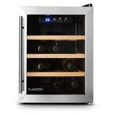 Weinkühlschrank Minibar Weinlagerschrank 33L 9 Flaschen EEK A LED Beleuchtung