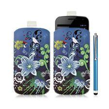 Housse coque étui pochette pour Samsung Galaxy Nexus avec motif HF09+ stylet lux