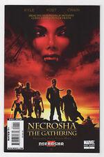 X Necrosha: The Gathering #1 (Feb 2010, Marvel) Selene Blink Kyle Yost Manco Q