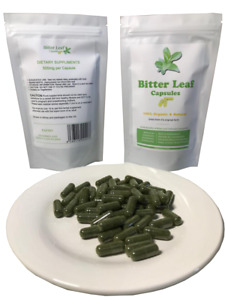 Bitter Leaf Capsules - 30 Capsules Nutritional Supplements - SEE VIDEO