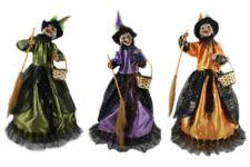 Hexe-Bewegung-Sound-60 cm-Faschingsdekoration-Hexenfiguren-Hexen-Deko-Halloween