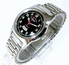 West End Watch Co. Sowan Prima Automatic Designer Black Dial Men's Watch 34mm