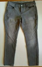 Old Navy Womens Skinny Jeans 10 Original Mid Rise Gray Flint Cotton Stretch