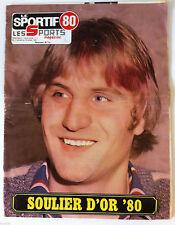 LE SPORTIF 80 du 14/01/1981; Soulier d'or 80/ Claude Criquielion/ Daniel Mathy
