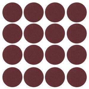 100X 3'' Loop Hook Sandpaper Sander Sanding Discs Pads 80 - 3000 Grits 75mm UK