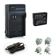 Battery + Charger For Panasonic DMW-BLG10E DMW-BLE9E Lumix DC-TZ90 DMC-GX7 GX85