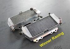 Braced aluminum radiator for Kawasaki KX125 KX 125 1999 - 2005 01 02 03 04  L+R