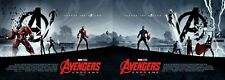 2 x Marvel Avengers Endgame ODEON Exclusive Posters Matt Ferguson. Parts 1 & 2