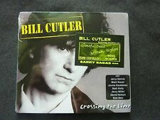 BILL CUTLER CROSSING THE LINE RARE NEW SEALED CD! GRATEFUL DEAD ELVIS COSTELLO