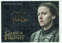 Game of Thrones InfleXions 2019 Autograph Card Gemma Whelan as Yara Greyjoy