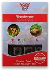 Frozen Fish Food 10 X 100g Bloodworm