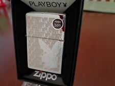 PLAYBOY BUNNY LASER ENGRAVED ZIPPO LIGHTER MINT IN BOX