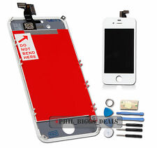 LCD Digitizer Touch Screen Assembly Replacement For Apple iPhone 4S White -UK