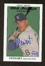 Andy Stewart signed autographed OLD JUDGE T-95 Series