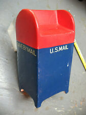 US MAIL DEPOSIT BOX COIN  BANK NATIONAL POTTERIES BEDFORD OHIO VGOOD CUTE !!