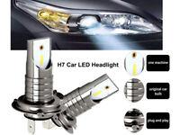 2x H7 LED 110W 6000K CSP Ampoules Voiture Kit Feux Phare Anti Lampe Xénon Blanc