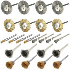 "24pcs 2""(50mm) Stainless Steel Brass Wire Brush Wheel Cup For Rotary Tool"
