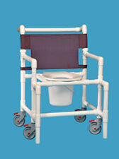 shower chair commode oversize bariatric wheeled scc9250 os