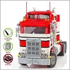LEGO MOC Kenworth Truck - CUSTOM Model Team - PDF Instructions Manual