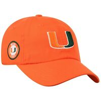 Miami Hurricanes Hat Cap Lightweight Moisture Wicking Golf Hat Licensed NEW