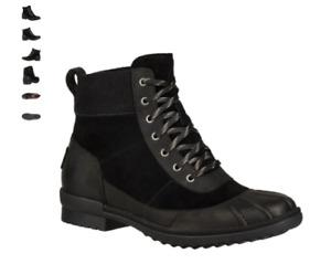 UGG Cayli Black Rain Boot Women's U.S. sizes 5-11/NEW!!!